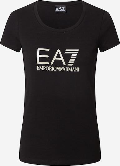 EA7 Emporio Armani T-Shirt in schwarz / weiß, Produktansicht