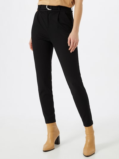 VERO MODA Trousers in black, View model