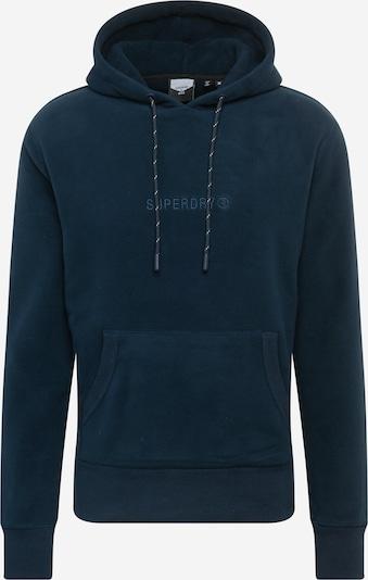 Superdry Sweat-shirt en marine, Vue avec produit