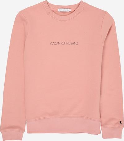 Calvin Klein Jeans Sweatshirt in de kleur Pink: Vooraanzicht