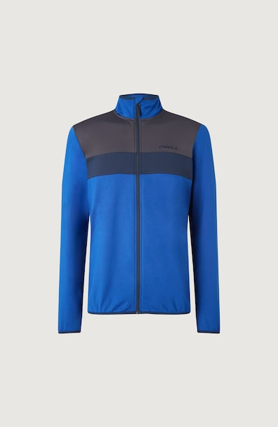 O'NEILL Funktionele fleece-jas 'Clime' in de kleur Marine / Royal blue/koningsblauw / Antraciet, Productweergave