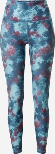 Pantaloni sport 'ASTRID' Marika pe turcoaz / azuriu / mov zmeură, Vizualizare produs