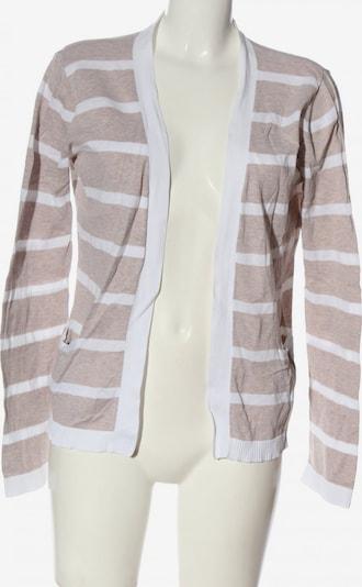 Zalando Strick Cardigan in L in nude / weiß, Produktansicht