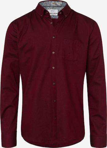 BRAX Hemd 'Daniel' in Rot