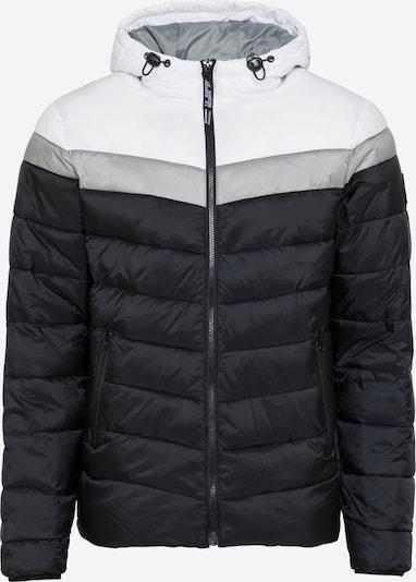 INDICODE JEANS Přechodná bunda 'Bisley' - černá / bílá, Produkt