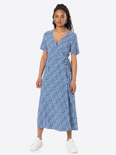 OBJECT Wickelkleid 'OBJELISE' in blau, Modelansicht