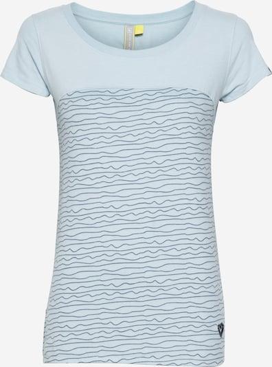 Alife and Kickin Тениска 'Clarice' в светлосиньо / черно, Преглед на продукта