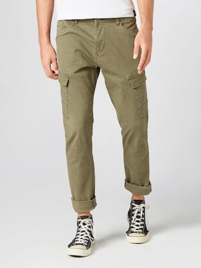 ESPRIT Pantalon cargo en kaki, Vue avec modèle