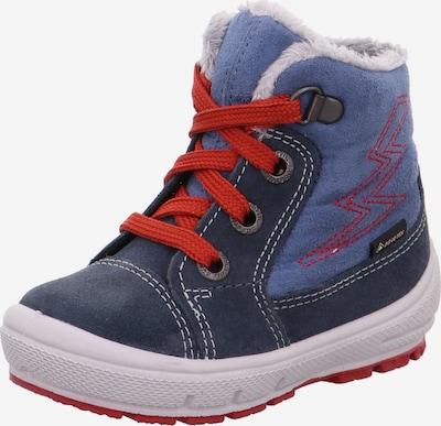 SUPERFIT Stiefel 'GROOVY' in blau / dunkelblau / rot / weiß, Produktansicht