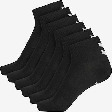 Chaussettes de sport 'CHEVRON' Hummel en noir