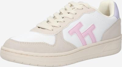 TOM TAILOR Sneaker in sand / hellgrau / rosa / weiß, Produktansicht