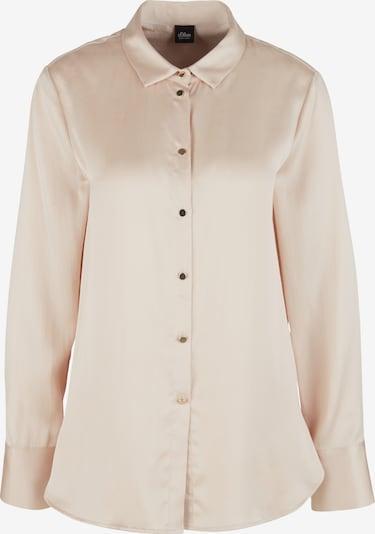 s.Oliver BLACK LABEL Bluse in creme, Produktansicht