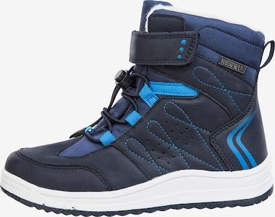 ZigZag Winterschuh PRICA Waterproof in blau: Frontalansicht