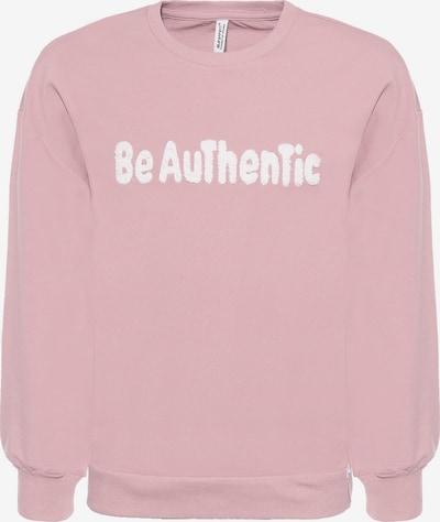 Megztinis be užsegimo 'Be Authentic' iš BLUE EFFECT , spalva - rožių spalva / balta, Prekių apžvalga