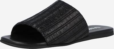 Samsoe Samsoe Mule 'Mela' en noir, Vue avec produit