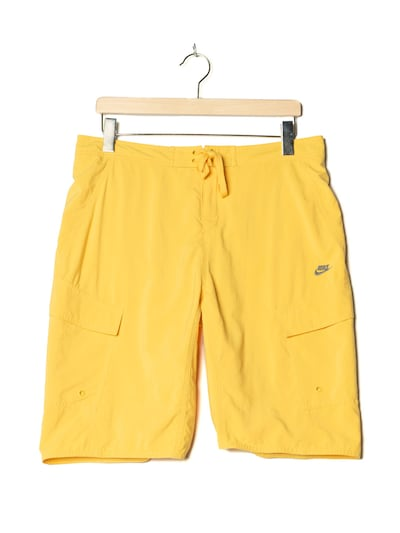 NIKE Boardshorts in L in gelb, Produktansicht
