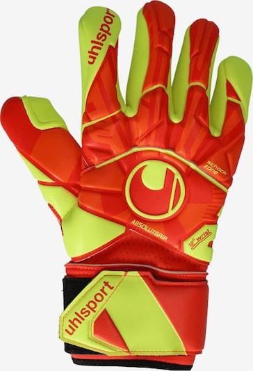 UHLSPORT Handschuh in gelb / orange, Produktansicht