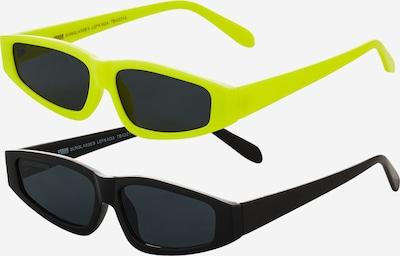 Urban Classics Sonnenbrille 'Lefkada' in neongelb / schwarz, Produktansicht