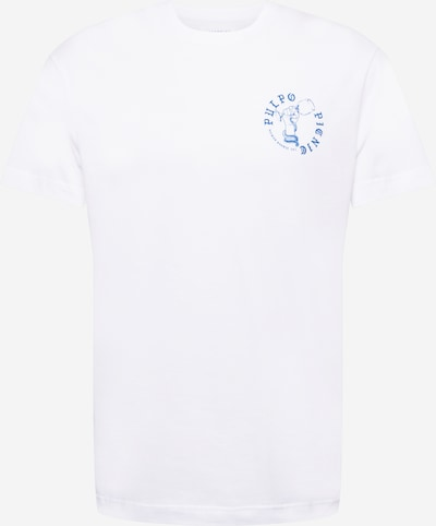 Libertine-Libertine T-Shirt 'Beat Pulpo II' en bleu / blanc, Vue avec produit