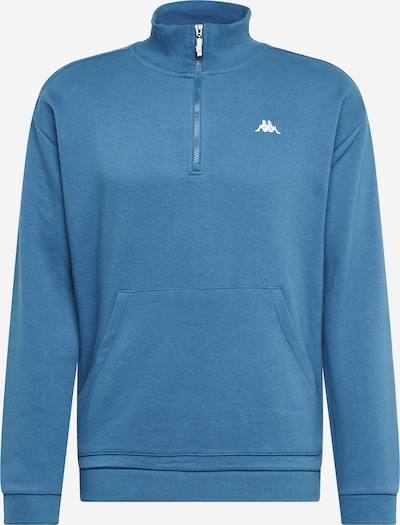 KAPPA Sweatshirt 'GREETER' in blau: Frontalansicht