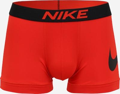 NIKE Sporta apakšbikses, krāsa - sarkans / melns, Preces skats