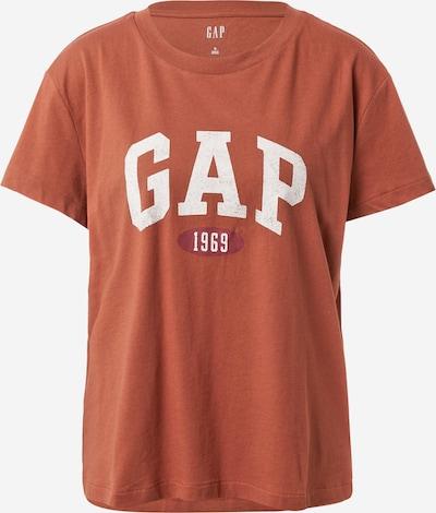 GAP Tričko - hnědá / bílá, Produkt
