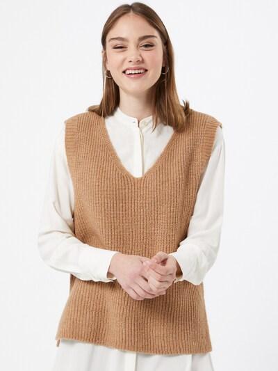 Megzta liemenė 'Cora' iš ONLY , spalva - šviesiai ruda, Modelio vaizdas