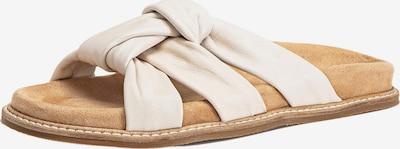INUOVO Mule en crème, Vue avec produit