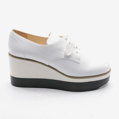 JIL SANDER Flats & Loafers in 41 in White, Item view