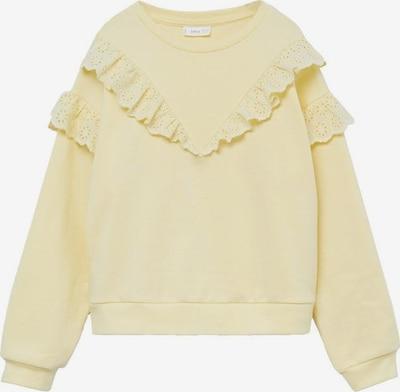 MANGO KIDS Sweatshirt 'Selma' in pastellgelb, Produktansicht