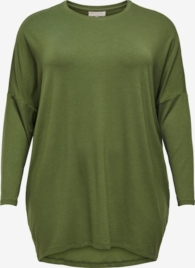 ONLY Carmakoma T-shirt oversize en olive, Vue avec produit
