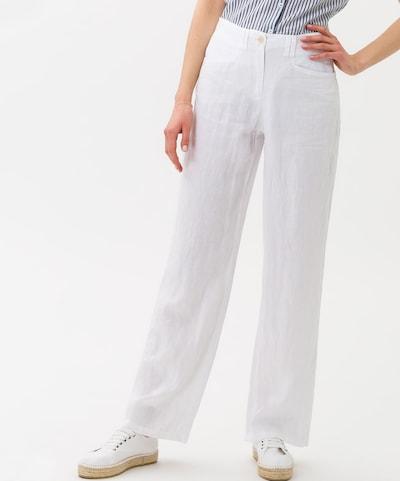 BRAX Hose 'Farina' in weiß, Modelansicht