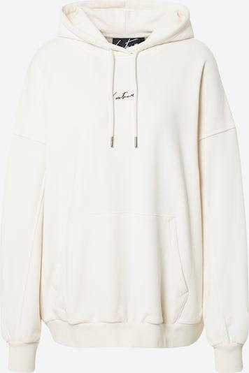 The Couture Club Sweat-shirt 'Essentials Signature' en blanc naturel, Vue avec produit