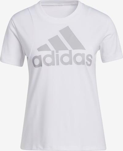 ADIDAS PERFORMANCE T-Shirt in grau / weiß, Produktansicht