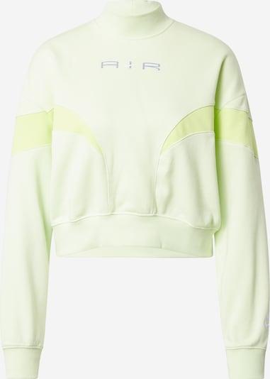 Bluză de molton Nike Sportswear pe galben pastel / verde pastel, Vizualizare produs