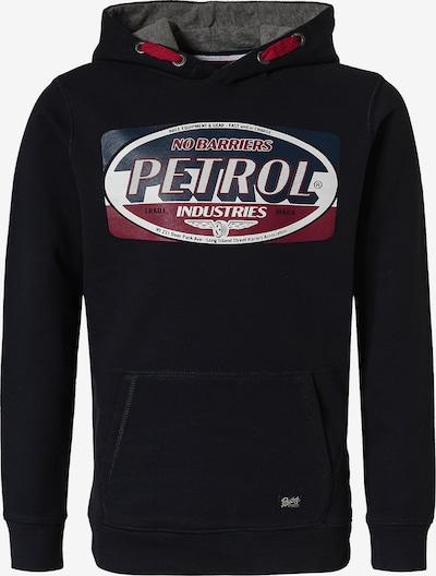 Petrol Industries Sweatshirt in navy / dunkelblau / grau / dunkelrot / weiß, Produktansicht