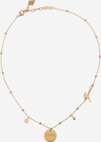 GUESS Necklace 'Greek Peony' in Gold