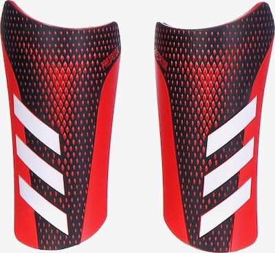 ADIDAS PERFORMANCE Schienbeinschoner 'Predator 20 League' in rot / schwarz / weiß, Produktansicht