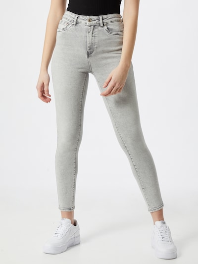 ONLY Jeans 'Mila Life' in de kleur Grey denim, Modelweergave