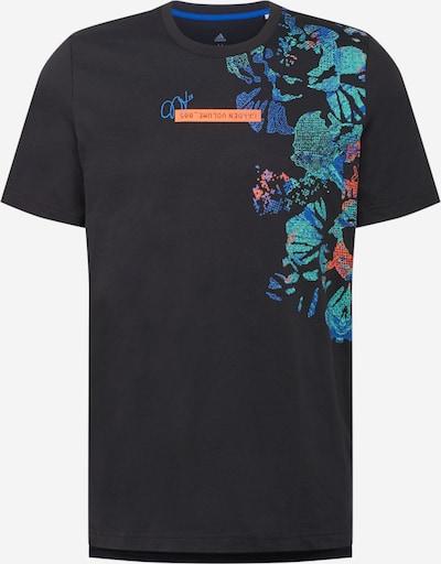 ADIDAS PERFORMANCE Sportshirt 'HARDEN' in blau / jade / lachs / schwarz, Produktansicht
