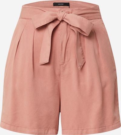 VERO MODA Bukser med lægfolder 'MIA' i lyserød, Produktvisning
