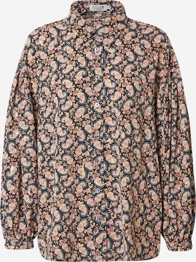 Molly BRACKEN Bluse in rauchblau / nachtblau / honig / rosé / puder, Produktansicht