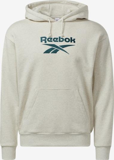 Reebok Classics Mikina - smaragdová / biela melírovaná, Produkt