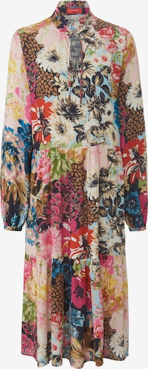 Laura Biagiotti Roma Kleid in creme / blau / hellblau / pink / altrosa, Produktansicht