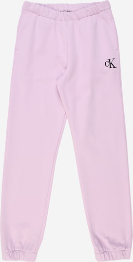 Calvin Klein Jeans Trousers in pastel pink / black, Item view