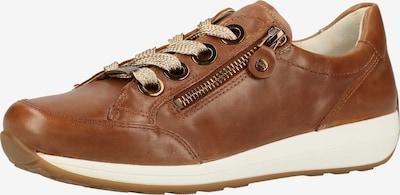 ARA Sneaker in braun / kastanienbraun / naturweiß, Produktansicht