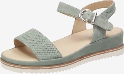 SIOUX Sandale in grün, Produktansicht