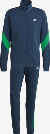 ADIDAS PERFORMANCE Trainingsanzug in blau / grün, Produktansicht