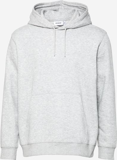 WEEKDAY Sweatshirt in de kleur Lichtgrijs, Productweergave