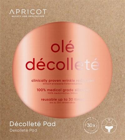 Apricot Décolleté Pad in weiß, Produktansicht